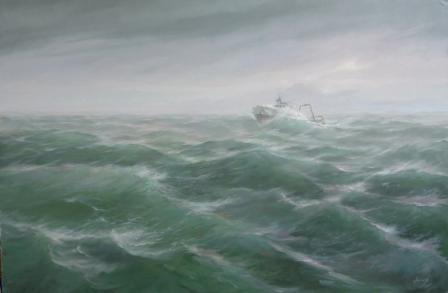 Нелюдимо наше море